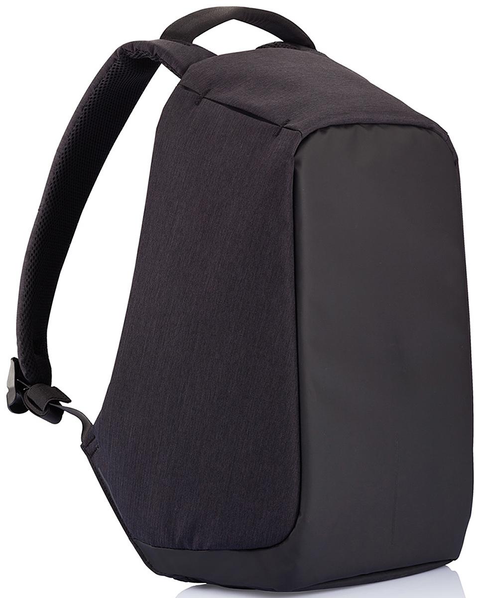 Рюкзак для ноутбука до 15 XD Design Bobby, цвет: черный. Р705.545Р705.545• Полная защита от карманников: не открыть, не порезать• USB-порт для зарядки гаджетов от спрятонного внутри рюкзака аккумулятора• Светоотражающие полосы• Супер-легкий: на 25% легче аналогов• Отделение для ноутбука до 15,6• Отделение для планшета• Влагозащита• Лямка для крепления на чемодан