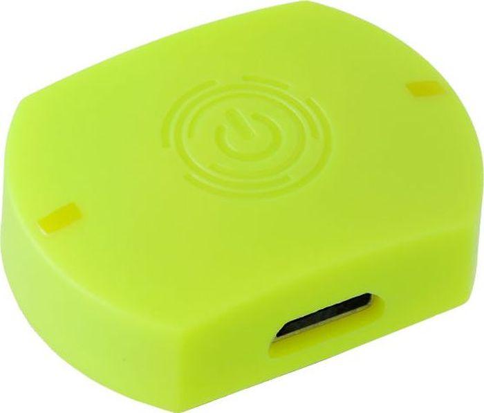 Компьютер для бадминтона Perfeo Smart One, цвет: лаймSmart OneБадминтонный компьютер-сенсор Perfeo Smart One .Все что вам необходимо сделать, это закрепить специальный сенсор на торце вашей ракетки при помощи клейкой ленты (в комплекте) или специальной силиконовой насадки, и установить специальную программу на ваш смартфон (доступно для iOS и Android). Вес сенсора всего 5 грамм!!! Это никак не помешает вам играть и не изменить вашу игру.С помощью Perfeo Smart One Вы сможете :1. Получать в режиме реального времени параметры выполнения тренировочных ударов, быстро анализировать их и эффективнее улучшать свою технику;2. Получать сводную информацию по итогам тренировки:- общее количество ударов за тренировку;- количество ударов каждого вида (компьютер различает 6 видов ударов);- активное время тренировки (время, когда ракетка была в движении);- максимальная скорость вылета волана за тренировку;- количество калорий, сгоревших за тренировку; - стиль игры;- количество атакующих и защитных ударов;- рассчитать и сравнить изменение параметров: Взрывная сила/ Выносливость/ Реактивная сила/ Антагонизм;3. При необходимости получить информацию по любому удару за тренировку (вид удара/ сила удара/ скорость вылета волана/ угол);4. Отслеживать выполнение еженедельного плана тренировок;5. Сохранить всю вашу статистику на едином Интернет-сервере и поделиться с друзьями новыми достижениями;6. Загружать на сервер результаты тренировок и фотографии с них;7. Участвовать в рейтинге бадминтонистов из разных стран и посоревноваться в активности на тренировках и прогрессе техники игры по таким параметрам, как:- максимальная скорость вылета волана;- количество ударов;- активное время;(среди пользователей аналогичных компьютеров, выкладывающих статистику на сервер)8. Просматривать 3D имитацию траекторию выполнения каждого удара.
