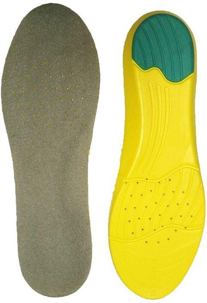 Стельки для обуви Практика Здоровья, цвет: серый. СТ18. Размер универсальныйСТ18Мягкая амортизирующая стелька с эффектом памяти.