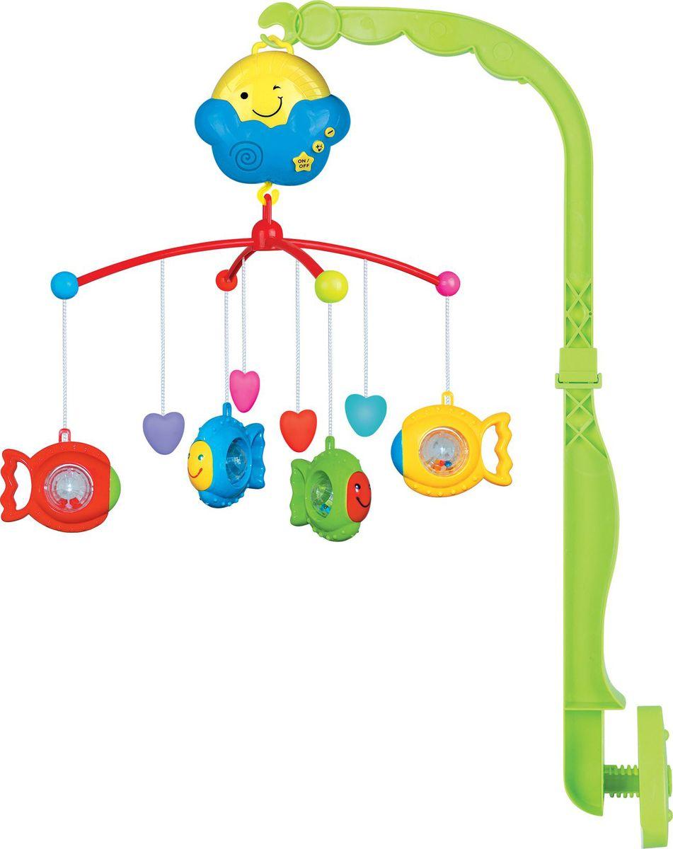 Shantou Gepai Мобиль музыкальный Рыбки Y12200047 - Игрушки для малышей
