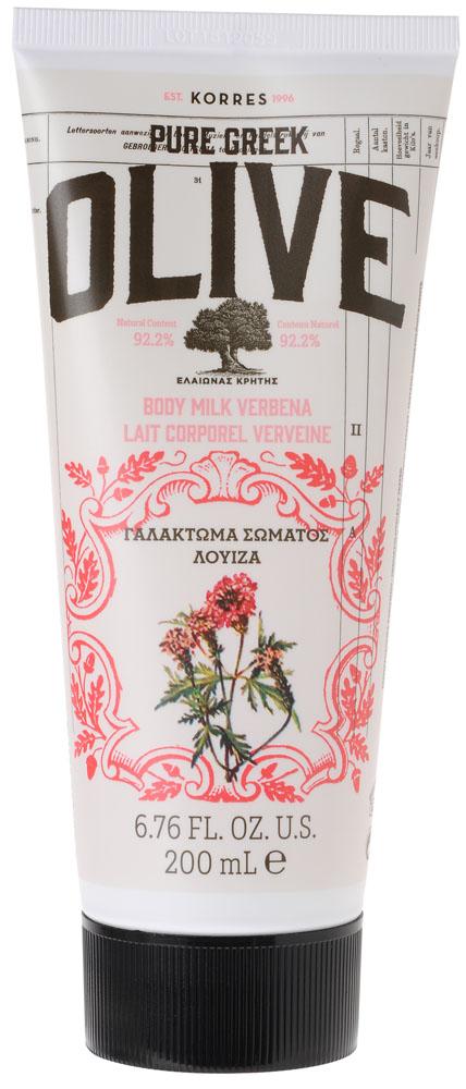 Korres Греческая Олива Молочко для тела Вербена, 200 мл5203069063756Увлажняющее молочко для тела обогащено оливковым маслом, природным источником витаминов и антиоксидантов, а также экстрактом листьев оливы, обеспечивающим тонизирующий эффект. Легкая текстура быстро впитывается, оставляя кожу мягкой и нежной. АКТИВНЫЕ ИНГРЕДИЕНТЫ: • Оливковое масло с острова Крит: увлажняет, питает и восстанавливает эластичность кожи; • Экстракт листьев оливы с острова Крит: тонизирует; • Миндальное масло: питает и увлажняет; • Микроэлементы: «пробуждают» эпидермис, заряжают клетки энергией; • Активный Алоэ: укрепляет иммунную систему кожи, стимулирует синтез коллагена и эластина и помогает уменьшить видимые признаки старения.