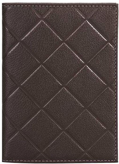 Обложка для паспорта женская Fabula Soft, цвет: коричневый. O.89.FPO.89.FP.шоколадОбложка для паспорта из коллекции SOFT выполнена из натуральной кожи. На внутреннем развороте 2 кармана из прозрачного пластика, шелковистая подкладка. Отличительная черта: тиснение в форме ромба.