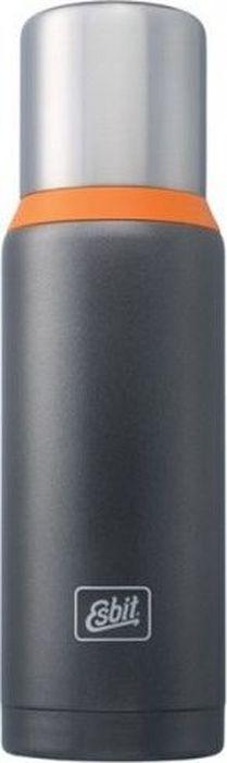Термос Esbit VFDW, цвет: темно-серый, оранжевый, 1 лVF1000DW-GOНовый стальной термос. Стальную крышку с двойными стенками можно использовать как чашку, а также в комплект входит еще одна дополнительная чашка. Высококачественная конструкция термоса сохраняет напитки холодными / горячими длительное время.Особенности: высококачественная нержавеющая стальпрочныйчашка из нержавеющей стали с двойными стенками (250 мл)дополнительная чашка (135 мл)сохраняет напитки холодными / горячими долгое времявнутренняя пробка с резьбой Характеристики:При температуре воды 98°C и температуре окружающей среды 20°C ± 2°С температура напитка:через 6 ч: 85°Cчерез 12 ч: 75°Cчерез 24 ч: 60°C Технические характеристики:Материал: нержавеющая стальРазмер: 295 х 90 ммВес: 589 гОбъем: 1000 мл