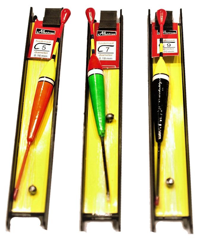 Набор мотовилец AGP, с поплавком, цвет: черный, 3 штА4-0042
