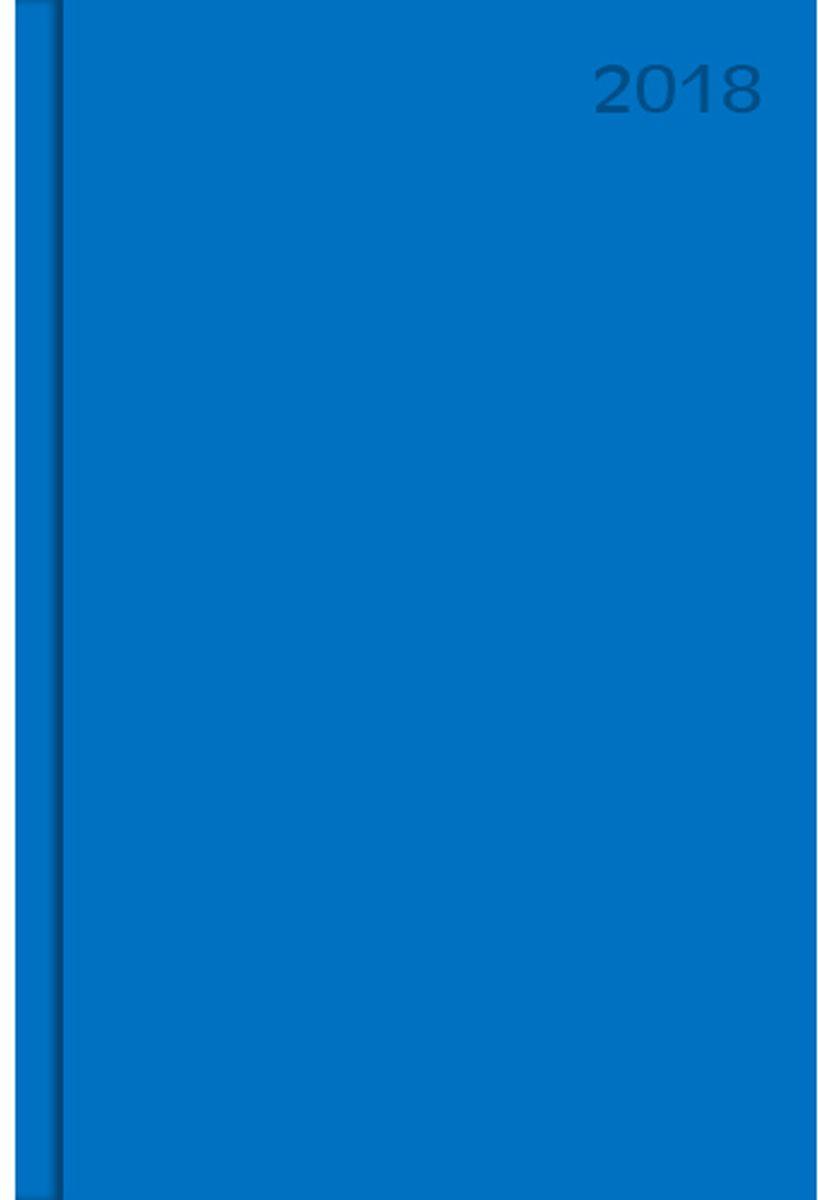 Канц-Эксмо Ежедневник 176 листов цвет синий формат А5ЕБ18517606Ежедневник А5. датированный 176л, бумвинил. Офсет 60 г/м2, 2 краска. справочные материалы, цв. карты, календарь на 4 г, Насыщенный синий (А5, 176л. )