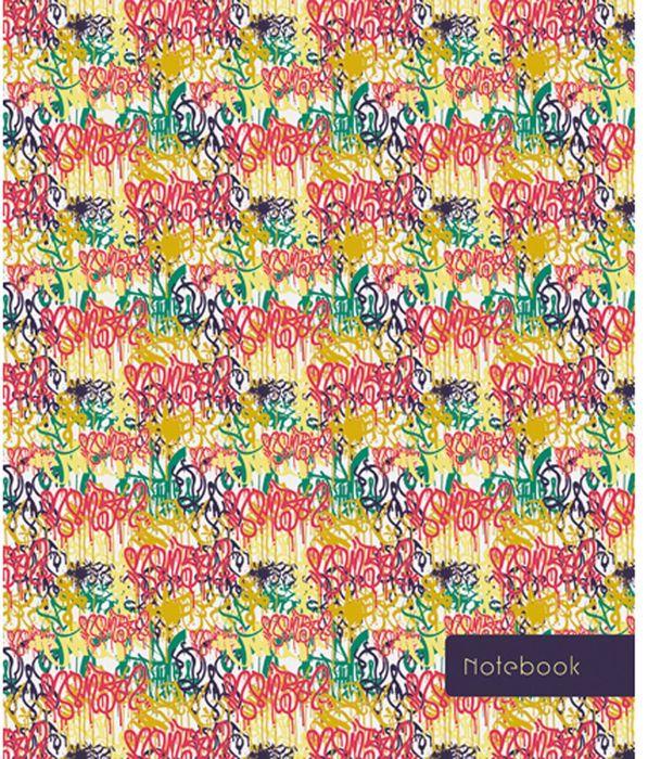 Канц-Эксмо Блокнот Орнамент 120 листов в клетку формат А5- ЕТИ5120128ЕТИ5120128Книгa для записей (евроТетрадь) А5- (146х167), 120л., интегральный переплетет, матовая ламинация, форзацы - белые, бумага - офсетная 60 г/м2, белая, клетка, сшитый блок. Орнамент. Граффити (А5-, 120 л. )