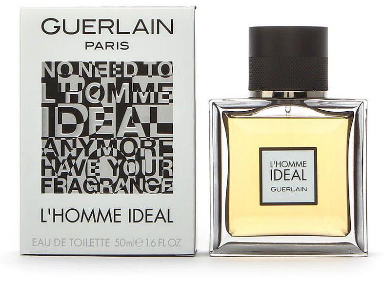 Guerlain L homme Ideal men туалетная вода, 50 мл961948Вооплащает образ идеального мужчины, умного, стильного, галантного, уверенного, целеустремленного, который всегда в центре внимания и очаровывает своей несравненной харизмой. Аромат является новинкой французского бренда Guerlain, он выпущен в начале 2016 года, создан двумя прекрасными парфюмерами Thierry Wasser и Delphine Jelk, воплотившие в нем все те качества, которые не оставят равнодушной ни одну женщину. Флакон парфюма– сама элегантность. Его четкие герметичные формы, толстое стекло выглядят достаточно солидно, передающие всю статность и благородство аромата. Парфюм начинается со свежих пикантных нот бергамота, маслянистых аккордов сладкого миндаля, слегка приправленных дорогими восточными специями. Далее он наполняется ароматным, сладко-дымным благоуханием болгарской розы, искушающей ванили и бальзамическими нюансами оригинального ладана. Густой шлейф парфюма из нот сандала, бобов тонка и кожи, дарит уверенность в себе и умиротворяет заманивая в свои сети представительниц прекрасного пола.