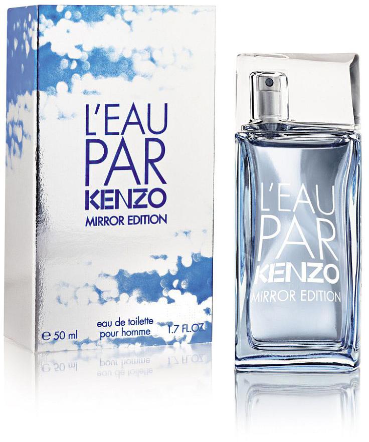 Kenzo Leau Par Mirror Edition man туалетная вода, 50 мл978932Это композиция, которая является символом очарования и чувственности. Стильный парфюмерный букет L`eau Par Mirror готов наделить мужчину удивительной аурой магнетизма и естественности. Флакон парфюма уже стал узнаваемым. Речь идет о бутылочке с искривленными гранями, которая вмещает в себя душистый коктейль из пикантных трав, пряностей, водной свежести и чувственных мускусных аккордов. Морской бриз готов освежить вас принести за собой интенсивные растительные и фруктовые оттенки, демонстрирующие весь шарм, утонченность и оптимистичность мужской натуры. Пикантная парфюмерная композиция от Кензо – это жизнерадостная вариация на тему оригинального аромата. Начальные нотки нового парфюма сочетают в себе силу базилика, опьяняющие мотивы водки и сочность грейпфрута. Сердечная часть аромата, благодаря таланту парфюмерного мастера Антуана Ли, обзавелась сочетаниями пикантной морской воды, шалфея и ненавязчивого можжевельника. В конечной части парфюма прослеживается сексапильность и сила свежести чувственного мускуса и гармоничного ветивера.
