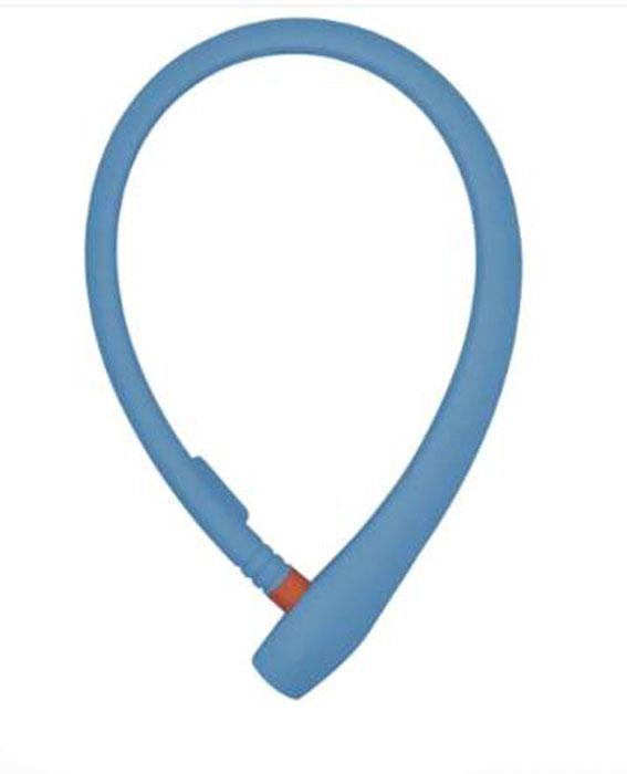 Велозамок с ключом Abus Ugrip Cable 560/65, цвет: голубой584725_ABUS