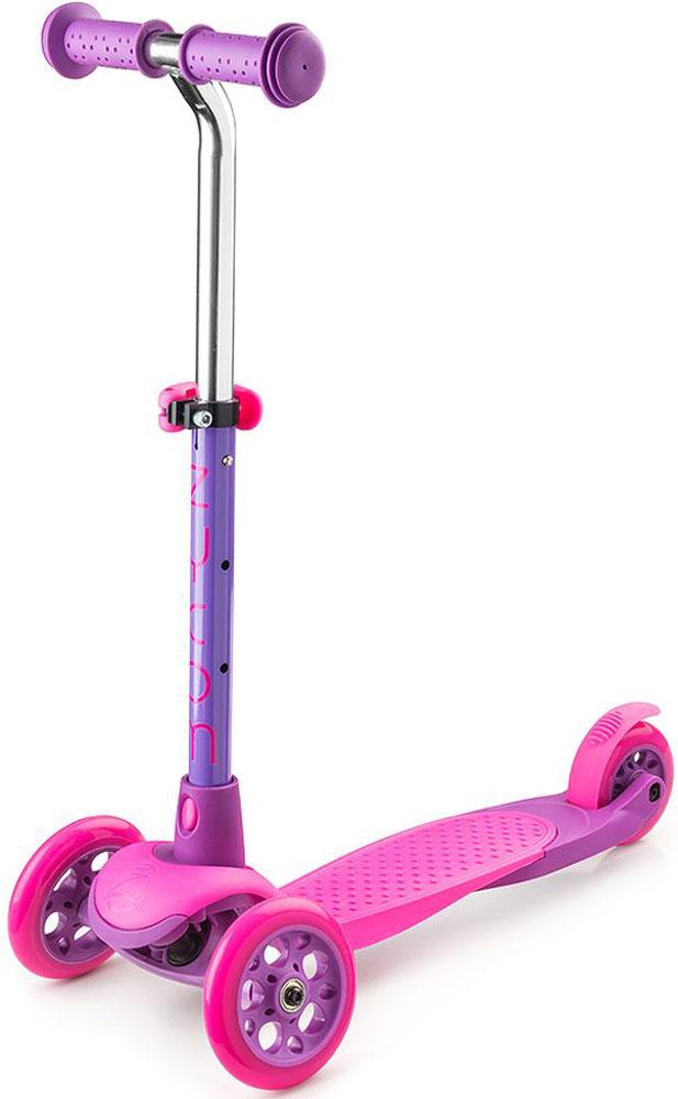 Самокат Zycom  Zing Mini , 3-колесный, с вынимаемой ручкой, цвет: розовый - Самокаты