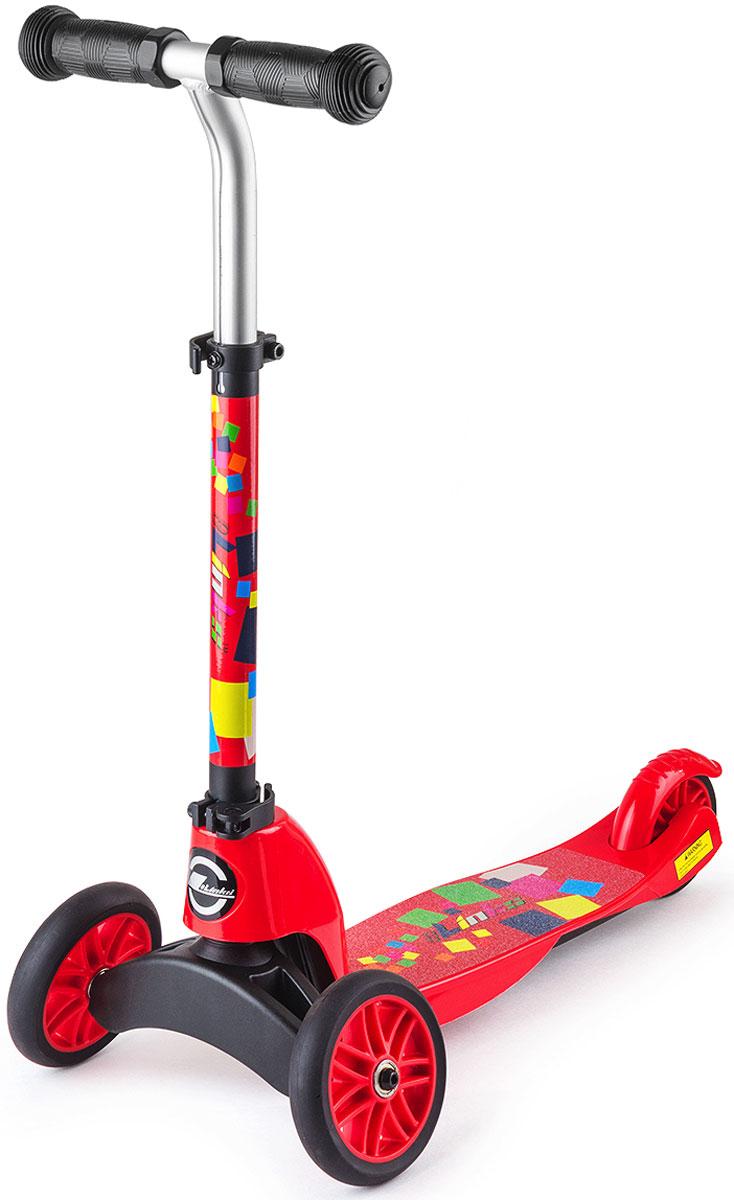 Cамокат-трансформер Small Rider Maestro. 2 в 1, цвет: красный1150915Small Rider Maestro (Смолл Райдер Маэстро) - это уникальный трансформер, который из трехколесного самоката превращается в двухколесный. Для этого достаточно сменить переднюю вилку с двумя колесами на одноколесную.Пусть ваш ребенок будет настоящим маэстро катания, который быстро освоится и с трехколесным, и с двухколесным самокатом. Благодаря ему вы не будете затягивать с приобретением двухколесного самоката, а сразу переключитесь в него когда это будет нужно и сэкономите, купив модель 2 в 1. Самокат предназначен для широкого возрастного диапазона - от 2 до 6 лет. Сначала он используется в трехколесном, более устойчивом варианте, а затем, по мере роста навыков, вы трансформируете его в двухколесный самокат. В отличие от многих других трехколесных самокатов, которые поворачивают с помощью наклонов, Small Rider Maestro один из не многих, где поворот происходит за счет руля как у обычного двухколесного самоката.Колеса сделаны из ПВХ, и имеют диаметр 120 мм - оптимальный размер для первого самоката. С помощью заднего ножного тормоза ребенок сможет контролировать скорость. Смолл Райдер Маэстро предназначен для широкого возрастного диапазона, и поэтому, конечно же, он имеет выдвижную ручку и несколько положений настройки высоты руля.Кстати, сама форма руля тоже интересная, выгнутая вперед, что очень удобно. Внимание! На самокатах детям рекомендуется кататься в шлеме и защите. Собирать самокат должен взрослый. Проверяйте перед каждой поездкой, чтобы самокат было надежно собран и зафиксирован. Не катайтесь в темное время суток или вблизи опасных мест.