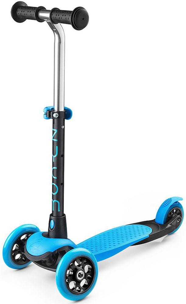 Самокат Zycom  Zing Mini , 3-колесный, с вынимаемой ручкой, цвет: синий - Самокаты