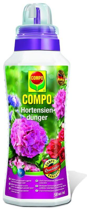 Удобрение для гераний, домашних и балконных растений Compo, 500 мл2191002066Специальное жидкое удобрение Compo для гераний, домашних и балконных растений