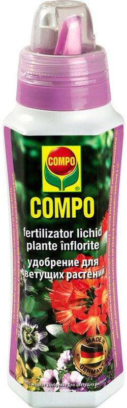 Удобрение для цветущих растений Compo, 500 мл1452912066Удобрение Compo для подкормки всех видов растений. Обеспечит гармоничный рост и развитие, пышное и продолжительное цветение