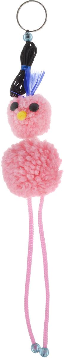 Игрушка-дразнилка для кошек GLG Страус на резинке, цвет: розовыйGLG043_розовыйИгрушка-дразнилка для кошек GLG Страус на резинке, выполненная из текстиля, не позволит заскучать вашему пушистому питомцу. Изделие оснащено бубенчиком и резинкой с металлическим кольцом. Играя с этой забавной игрушкой, маленькие котята развиваются физически, а взрослые кошки и коты поддерживают свой мышечный тонус.Такая игрушка порадует вашего любимца, а вам доставит массу приятных эмоций, ведь наблюдать за игрой всегда интересно и приятно. Общая длина игрушки (с учетом резинки): 95 см.Размер игрушки (без учета резинки): 5 х 5 х 23 см.