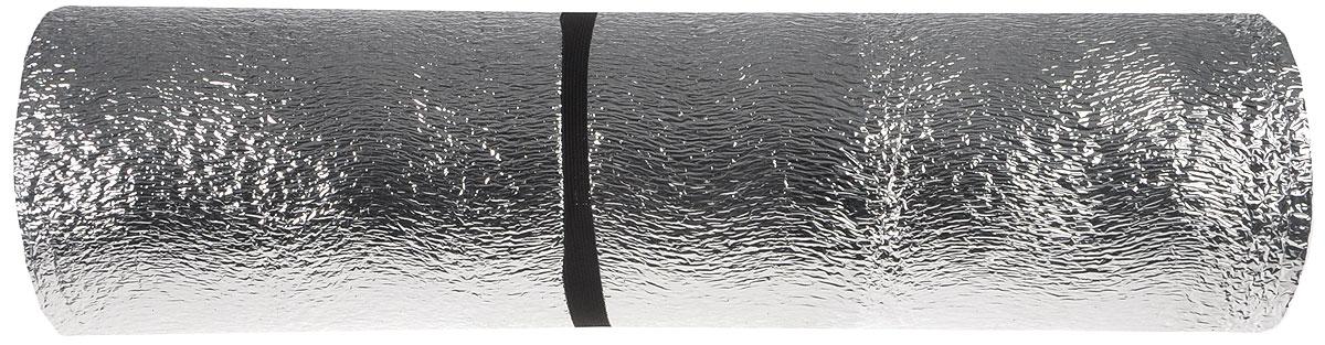 Коврик туристический фольгированный, цвет: серый, белый, 180 х 60 х 1 см562821_серый, белыйТуристический коврик является необходимым атрибутом любого туристического похода, выездов за город, рыбалки. Легкий коврик предназначен для сохранения тепла, комфортного сна и предохранения спального мешка от различных повреждений и влаги.