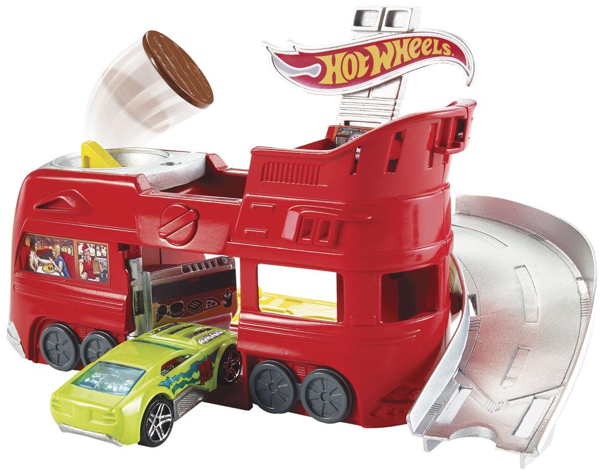 Hot Wheels Игровой набор Бургерная на колесах