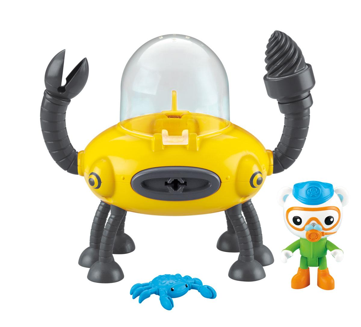 Octonauts Игровой набор Клешня и подводная лодка Gup-D - Игровые наборы
