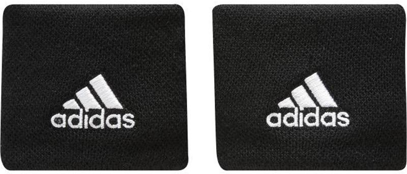 Напульсники Adidas Ten Wb, цвет: черный, 2 шт. S97838-OSFM