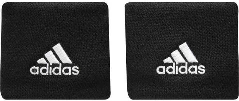 Напульсники подростковые Adidas Ten Wb, цвет: черный, 2 шт. S97838-OSFY