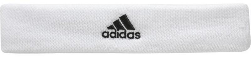 Повязка на голову Adidas Ten Headban, цвет: белый. S97911. Размер 58/60S97911Повязка на голову взр.• Трикотажная структура Pique• Максимальный комфорт, благодаря материалу,конструкции и толщине:• Вышитый логотип adidas Performance: