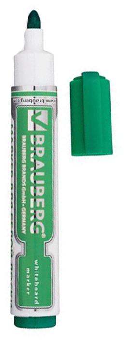 Brauberg Маркер для доски Neo цвет зеленый150490Высококачественный маркер для белой маркерной доски. Не высыхает с открытым колпачком в течение нескольких дней.