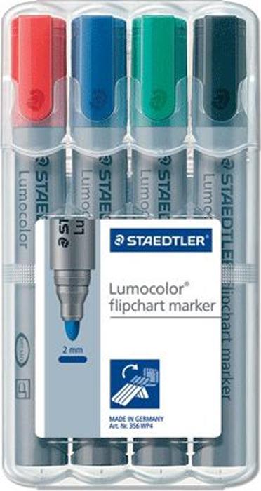 Staedtler Набор маркеров для флипчарта Lumocolor 4 цвета -  Маркеры