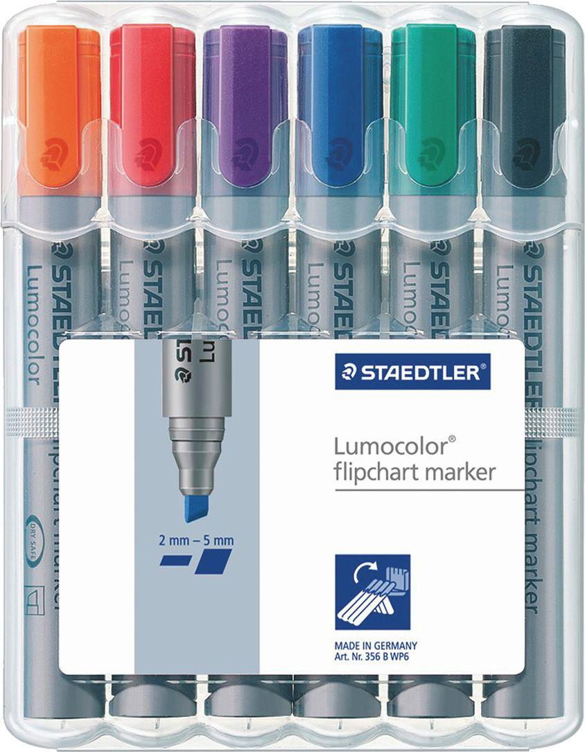 Staedtler Набор маркеров для флипчарта 6 цветов -  Маркеры