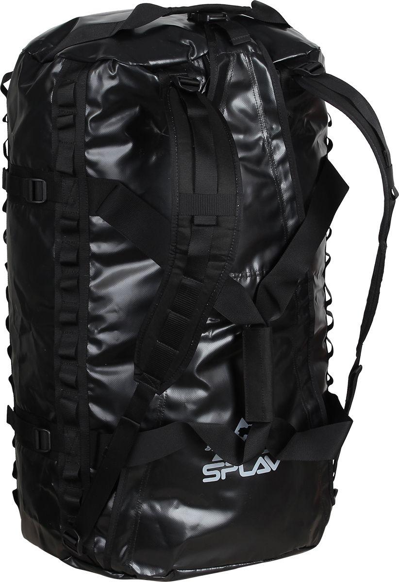 Баул Сплав  Dakar , цвет: черный, 44 х 27 х 65 см, 80 л - Туристические сумки