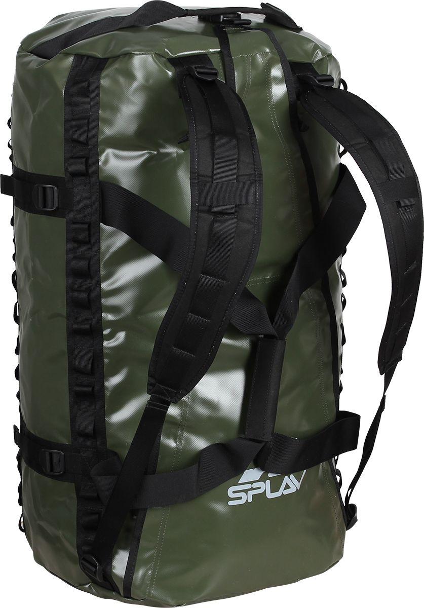 Баул Сплав  Dakar , цвет: олива, 44 х 27 х 65 см, 80 л - Туристические сумки