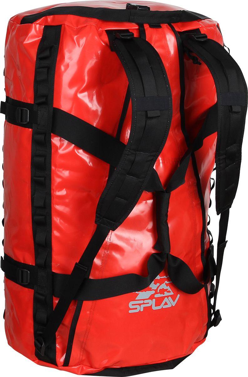Баул Сплав  Dakar , цвет: красный, 45 х 25 х 70 см, 100 л - Туристические сумки