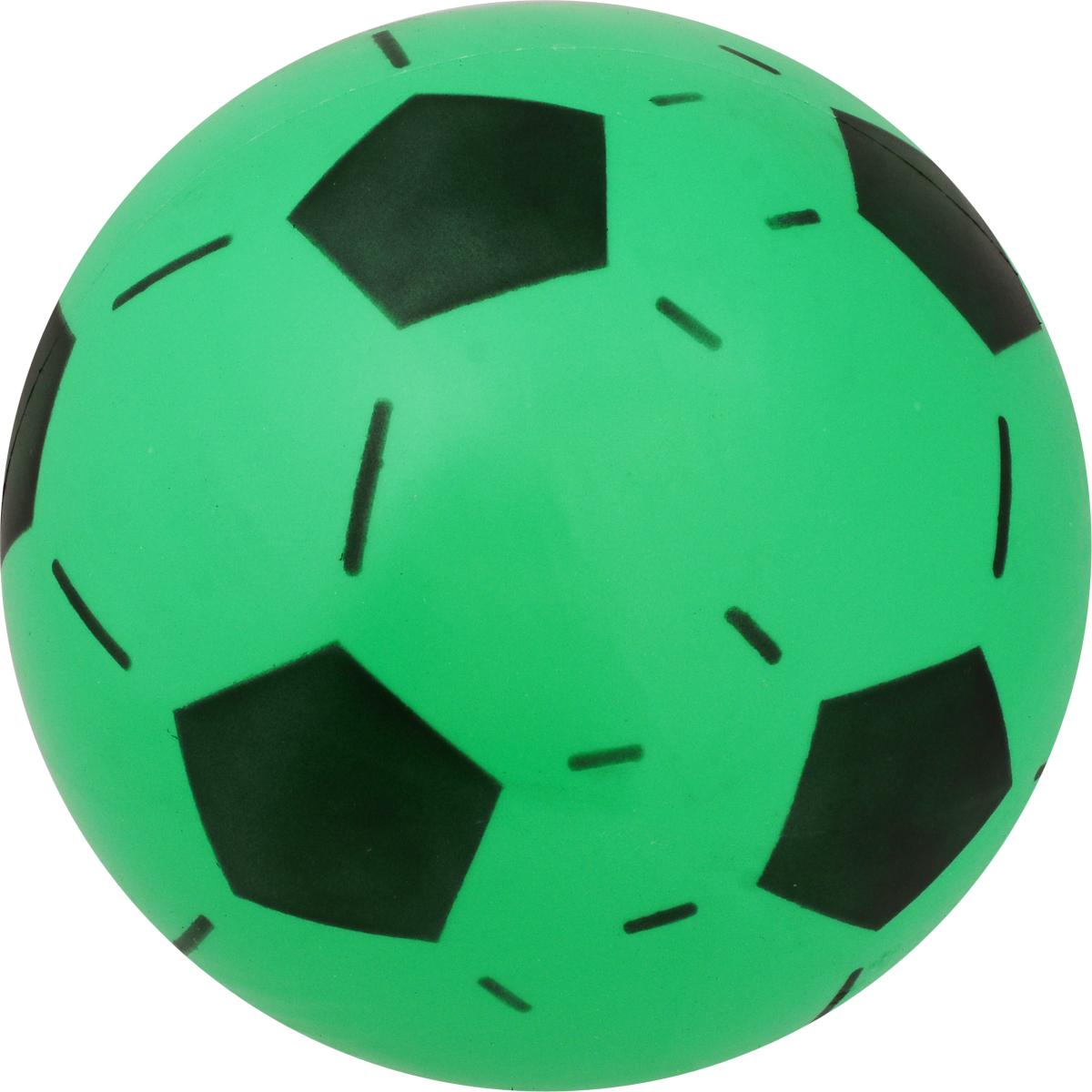 Забияка Мяч Футбольный цвет зеленый 20 см