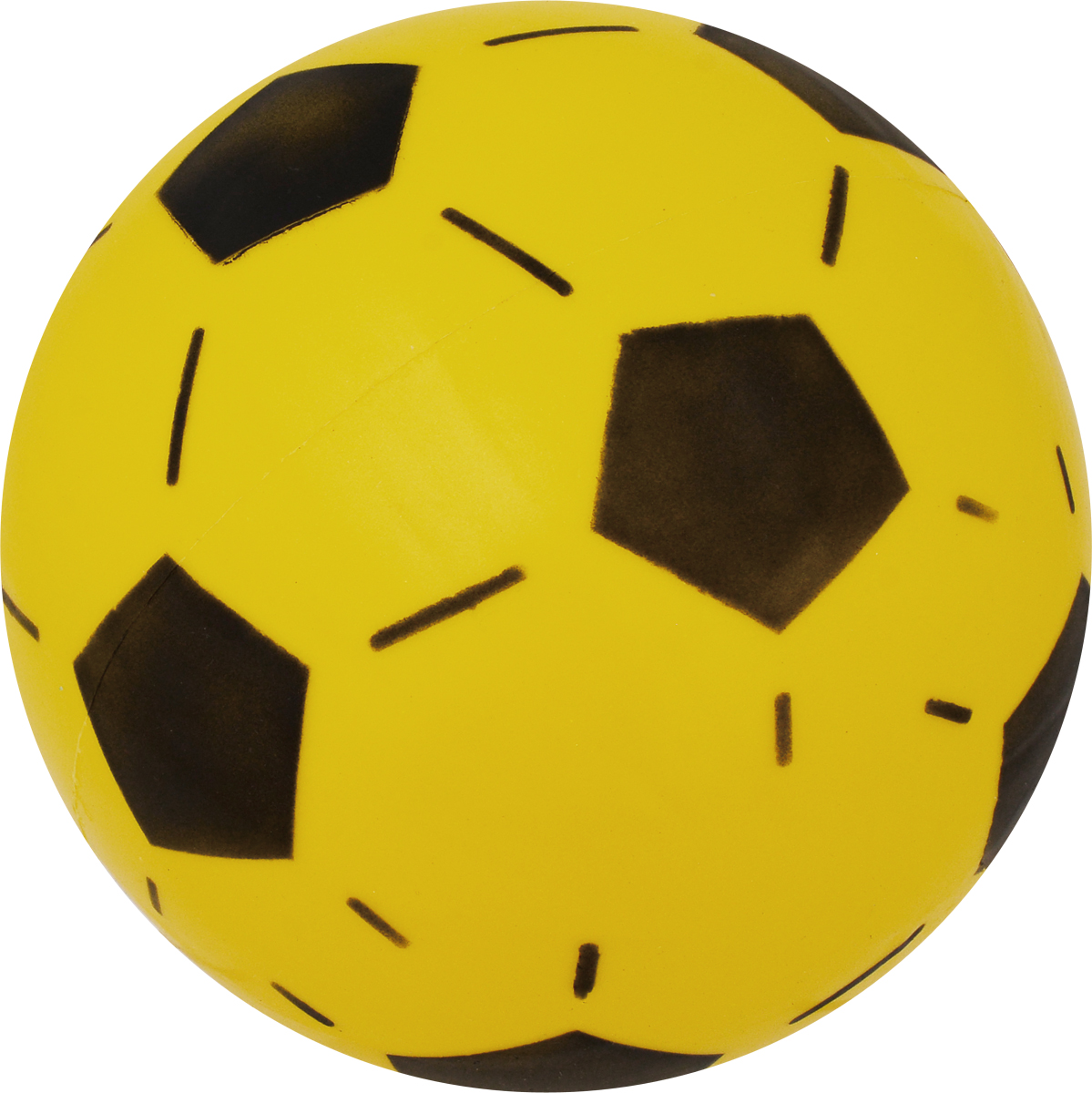 Забияка Мяч Футбольный цвет желтый 20 см