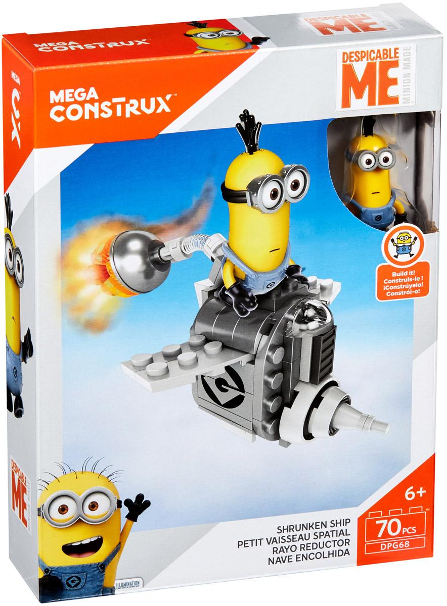 Mega Bloks Гадкий Я Конструктор Космический корабль конструкторы mega bloks гадкий я табличка для имени