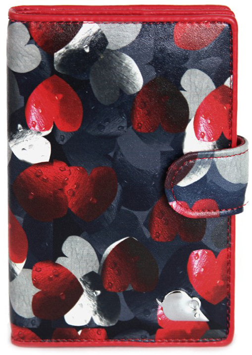 Обложка для автодокументовженская Topo Fortunato, цвет: синий, красный. TF 108-092TF 108-092