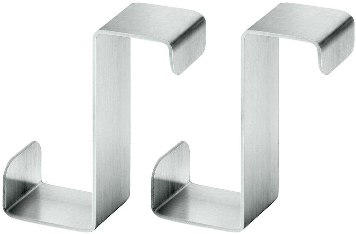 Крючок Tatkraft Claw, надвeрный, цвет: серый металлик, 2 шт20269Tatkraft Claw Надверные крючки из нержавеющей стали, 2 шт., 2.3?4?1.5 см, легкая установка и удобные в использовании. Идеально подходит для мебели, не препятствуют закрытию двери. Создают дополнительное пространство для хранения! Современный дизайн, нержавеющие, прочные. Материал: Нержавеющая Сталь