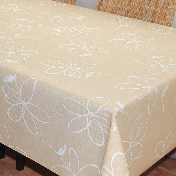 Скатерть Protec Textil Alba. Анна, прямоугольная, цвет: бежевый, 140 х 180 см6131Эксклюзивная и стильная скатерть коллекции Alba в индивидуальной упаковке. Скатерть состоит на 80% из хлопка и на 20% из полиэстера. Специальная обработка придает ткани термостойкость и влагоустойчивость. Технология производства изделий отвечает новейшим европейским стандартам. Полотна отличаются высочайшими качественными характеристиками: высокими показателями износостойкости, цветостойкости и цветопередачи, прочности ткани на разрыв, низкими показателями истираемости полотна при мнокократном использовании изделия. Скатерть обладает высокой плотностью, не скользит и не перемещается на поверхности стола, легко протирается влажной тканью, возможна деликатная стирка при температуре не выше 30 градусов. Коллекция скатертей Alba - это тренд современной хозяйки, которая предпочитает стиль и качество в сочетании с практичностью.