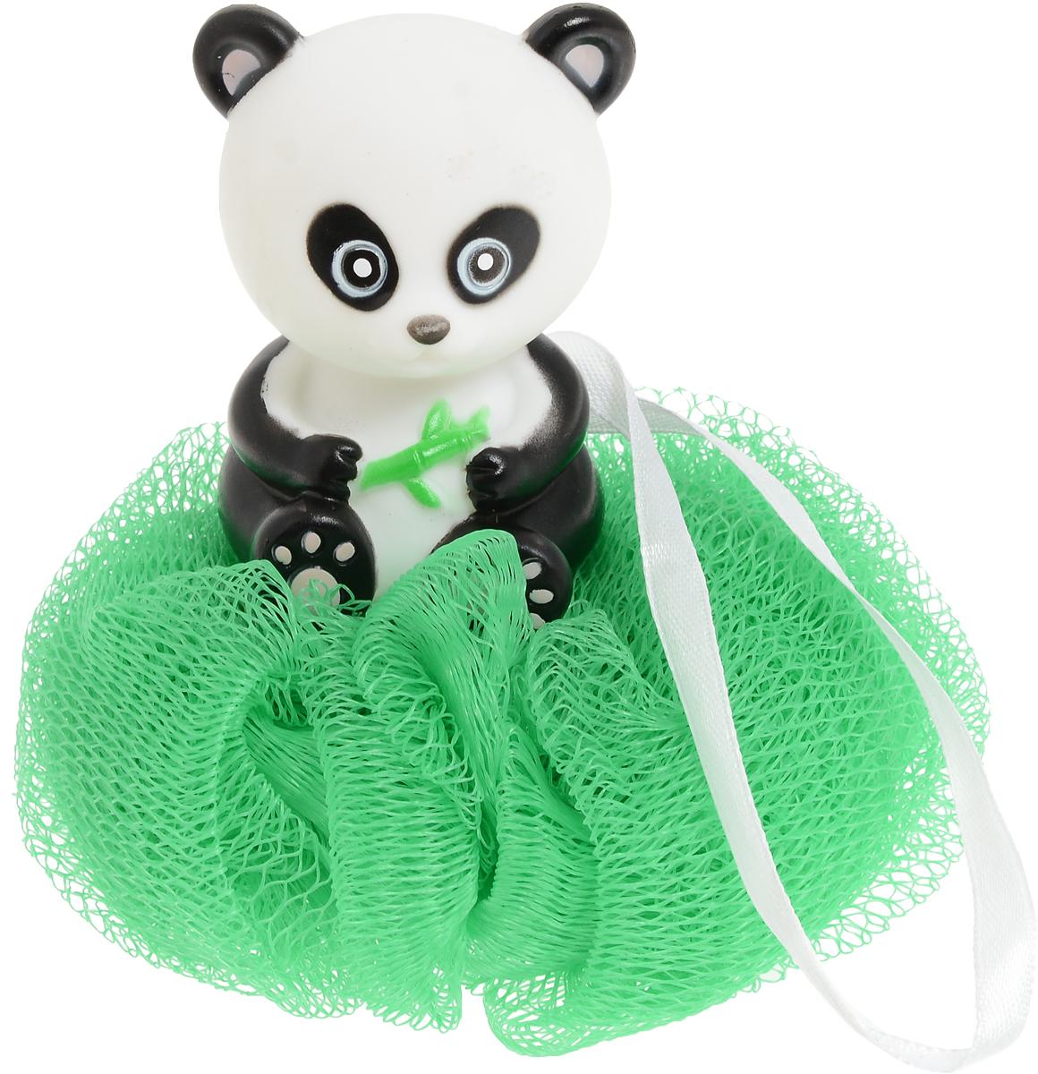 BioCos Мочалка для тела с игрушкой-гелем для душа Панда, цвет зеленый12989_зеленый/пандаМочалка бережно очищает кожу, обладает приятным массажным эффектом. Подходит для ежедневного использования.Рекомендации по применению: промыть мочалку в горячей воде, предварительно сняв с нее игрушку. Выдавить гель для душа из игрушки на мокрую мочалку и взбить до появления пены.Состав геля для душа: вода, лауретсульфат натрия, кокамидопропилбетаин, акрилат/C10-30, алкилированный акрилат кроссполимер, триэтаноламин, С12-13 алкил лактат, парфюм, двунатриевый ETDA, метилпарабен, пропилпарабен, метилхлороизотиазолинол & метилизотиазолинон, +/- Cl19140, Cl42090, Cl17200, Cl77891.