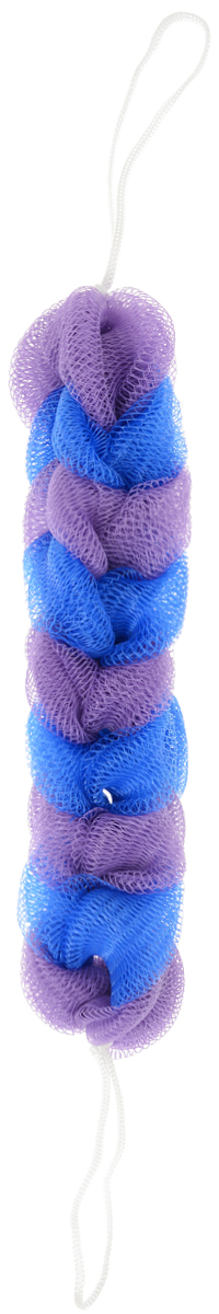 BioCos Мочалка для тела Косичка, цвет синий, сиреневый5955_синий, сиреневыйМочалка для тела BioCos Косичка обладает тонизирующим эффектом. Подходит для ежедневного применения. Деликатно и нежно очищает кожу, легко вспенивает даже небольшое количество геля или мыла. Обладает приятным отшелушивающим эффектом, мочалка массирует кожу, снимая усталость и напряжение. Служит долго, сохраняя свою первоначальную форму.Перед использованием размочить в горячей воде. После применения тщательно промыть под струей воды и высушить.Состав: безузловая сетка.