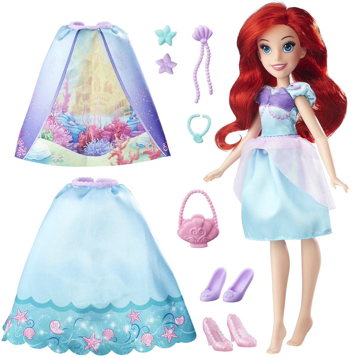 Disney Princess Кукла Ариэль Модница - Куклы и аксессуары