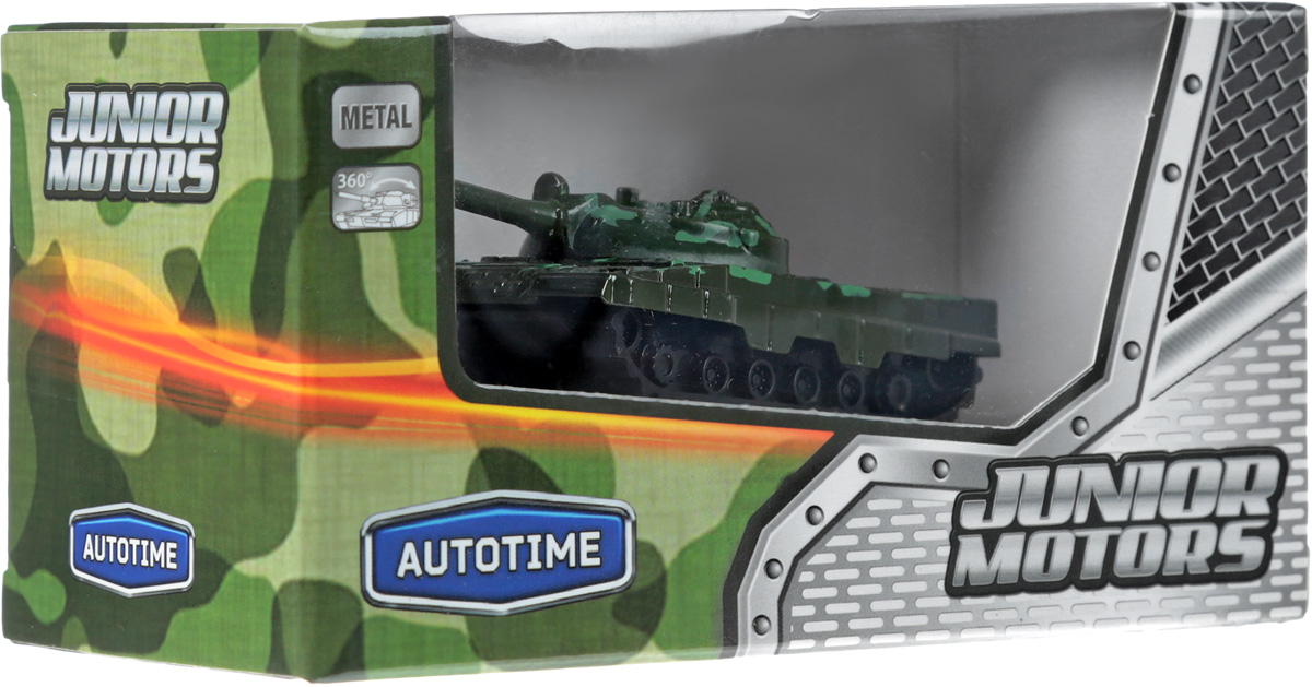 Autotime Танк Junior Motors Battle Defender игрушка танк