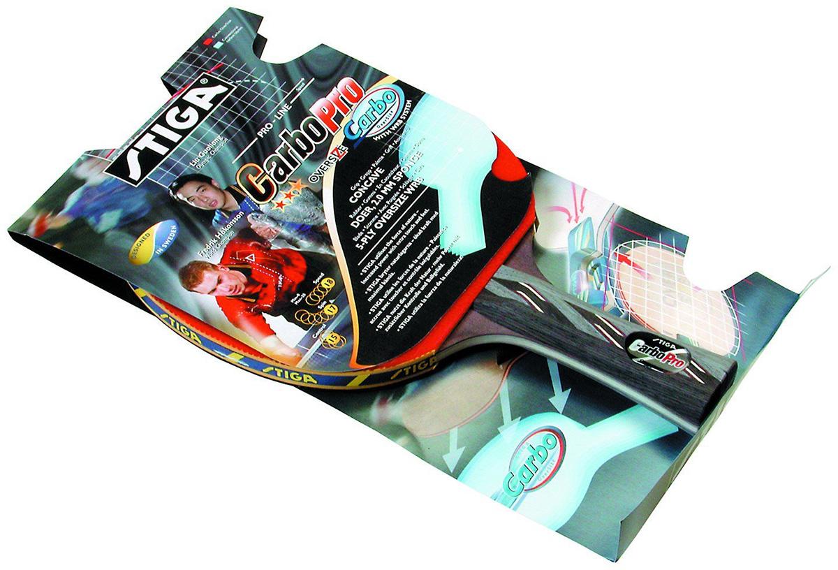 Ракетка для настольного тенниса Stiga Carbopro Oversize1593-01Профессиональная ракетка для настольного тенниса. Одобрена ITTF.