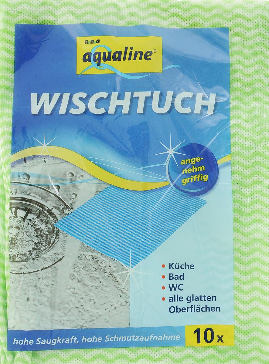Салфетка-чудомойка Aqualine, с перфорацией, цвет: салатовый, 37 х 51 см, 10 шт3110_салатовыйСалфетка-чудомойка Aqualine выполнена из тонкого, но прочного перфорированного материала. Она обладает высокой очистительной способностью. Отлично собирает грязь и влагу, моет, не оставляя следов и ворсинок, хорошо выжимается. Салфетка имеет долгий срок службы.В комплекте 10 салфеток.Салфетка легко стирается при температуре 40°С.Размер салфетки: 37 х 51 см.