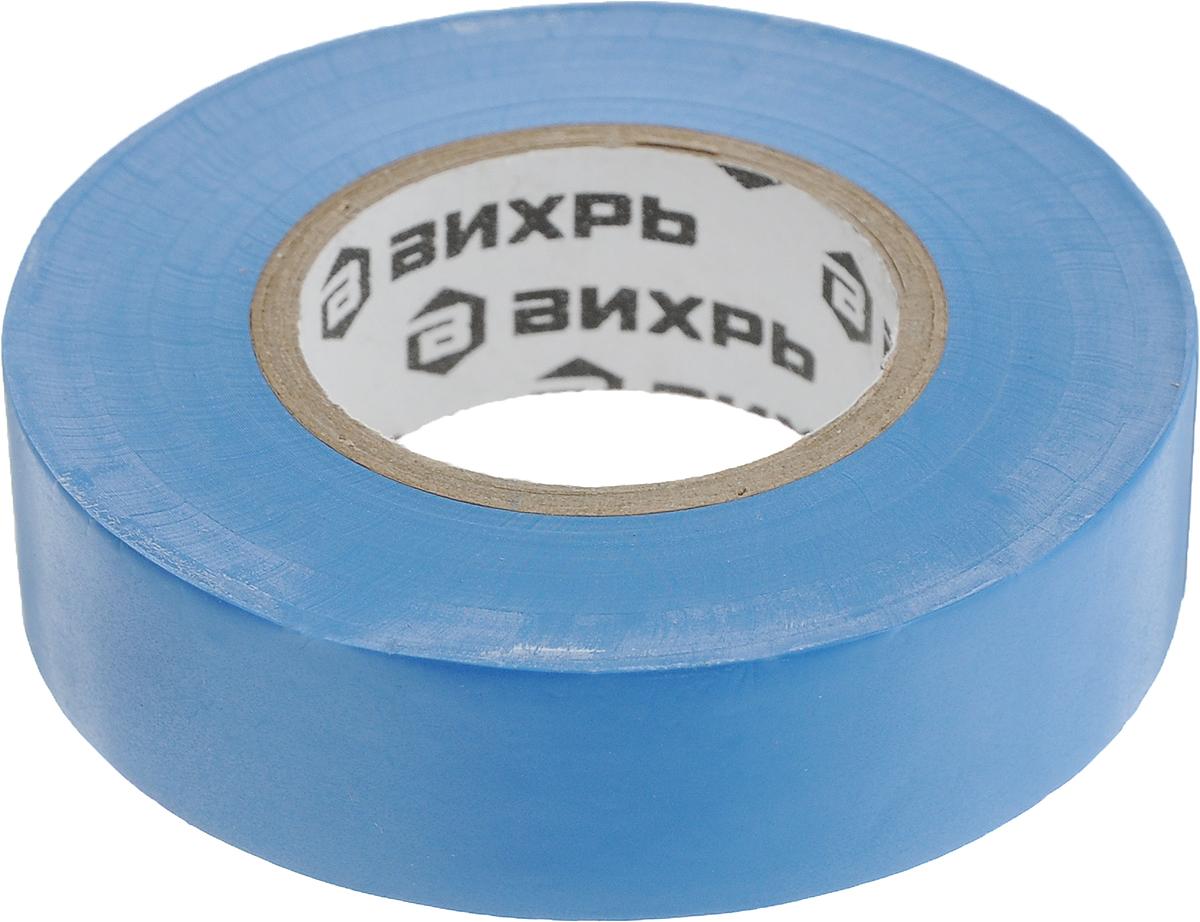 Лента изоляционная Вихрь, цвет: синий, 20 м х 19 мм73/3/3/4Изоляционная лента Вихрь - изолента профессионального уровня, изготовлена на основе пленки из поливинилхлоридного изоляционного пластиката. Специальные добавки, используемые при производстве данного материала, повышают эластичные свойства ленты, увеличивают ее долговечность и обеспечивают устойчивость к горению.Изолента Вихрь предназначена для проведениявсех видов электромонтажных работ: электрической изоляции проводников, сращивания и жгутирования, защиты от механических повреждений, цветовой маркировки.Особенности:- выдерживает напряжение пробоя - 6000 В,- обладает высокими клеевыми свойствами,- эластичная и прочная, удлинение при разрыве - от 170 до 200%,- устойчива к ультрафиолетовым лучам,- не поддерживает горение,- диапазон рабочих температур - от -30°С до +70°С.Длина: 20 м.Ширина: 19 мм.