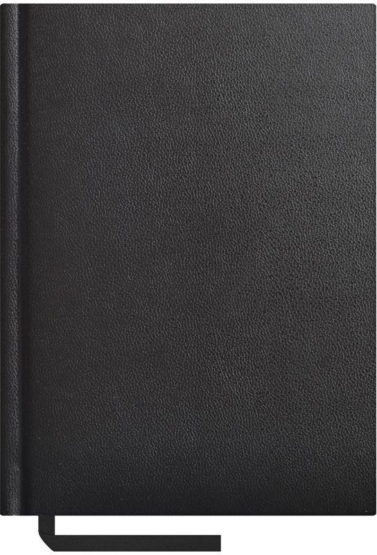 OfficeSpace Ежедневник Ariane недатированный 160 листов в линейку цвет черный формат A6 En6b_8396En6b_8396Недатированный ежедневник формата А6 из коллекции Ariane. Обложка изготовлена из качественного европейского переплетного материала с поролоновой прослойкой, цвет обложки - черный. Подходит для всех видов полиграфического тиснения. Внутренний блок состоит из 160 листов офсетной бумаги плотностью 70 г/м2, печать блока в 2 краски, справочный материал. На форзацах географические карты России и Мира. Удобная закладка-ляссе и перфорированные уголки.