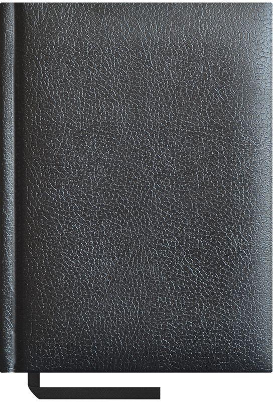 OfficeSpace Ежедневник Ariane недатированный 160 листов в линейку цвет черный формат A6 En6b_8452En6b_8452Недатированный ежедневник формата А6 из коллекции Derby. Обложка изготовлена из качественного европейского переплетного материала с поролоновой прослойкой, цвет обложки - черный. Подходит для всех видов полиграфического тиснения. Внутренний блок состоит из 160 листов офсетной бумаги плотностью 70 г/м2, печать блока в 2 краски, справочный материал. На форзацах географические карты России и Мира. Удобная закладка-ляссе и перфорированные уголки.