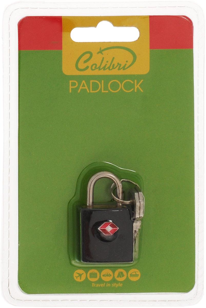 Сolibri Замок для багажа с функией TSA, 2,2 х 4,1 х 1,2 см, Colibri