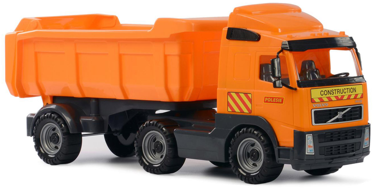 Полесье Самосвал Volvo с полуприцепом цвет оранжевый 9524