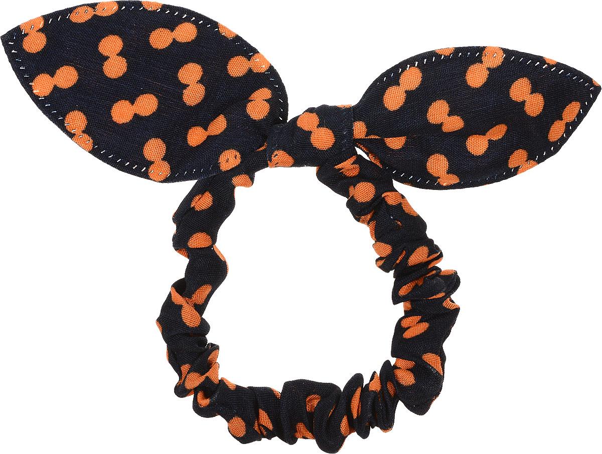 Magic Leverage Резинка для волос, цвет: черный, оранжевыйРГ_черный, оранжевыйMagic Leverage Резинка для волос, цвет: черный, оранжевый