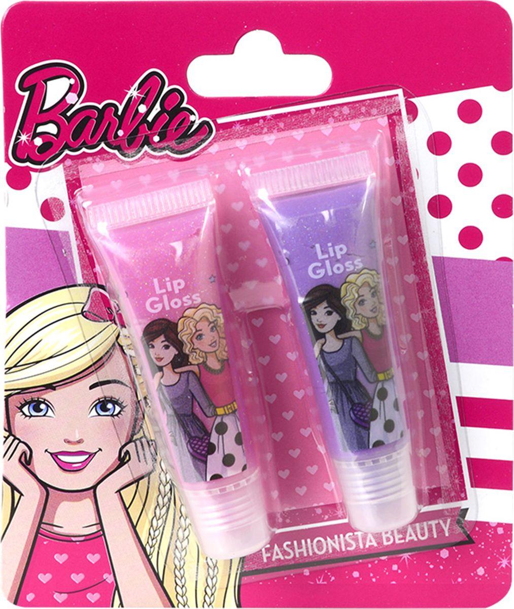 Markwins Игровой набор детской декоративной косметики Barbie 97072519707251Состав набора: блески для губ в тубах 2 шт.